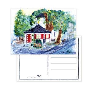 "Postkarte ""Mühlen Pavillon"". Motiv: Karina Finkenau. SKU: 720455"